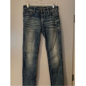 Buckle Black - Straight Jeans - 26 x 32